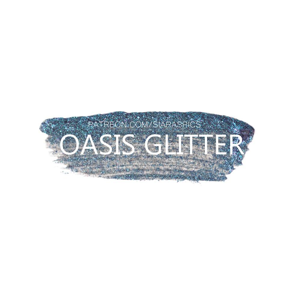 oasis glitter shadowsense