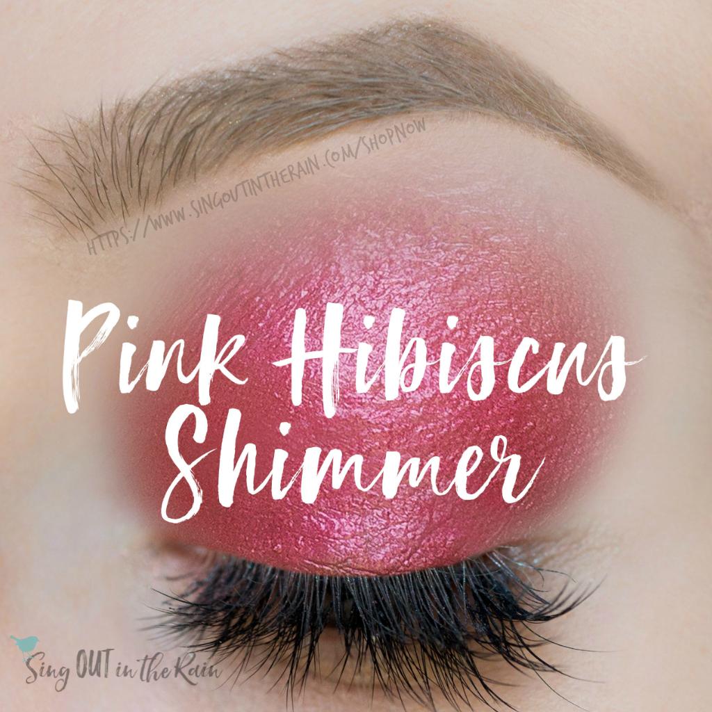 Pink Hibiscus Shimmer ShadowSense