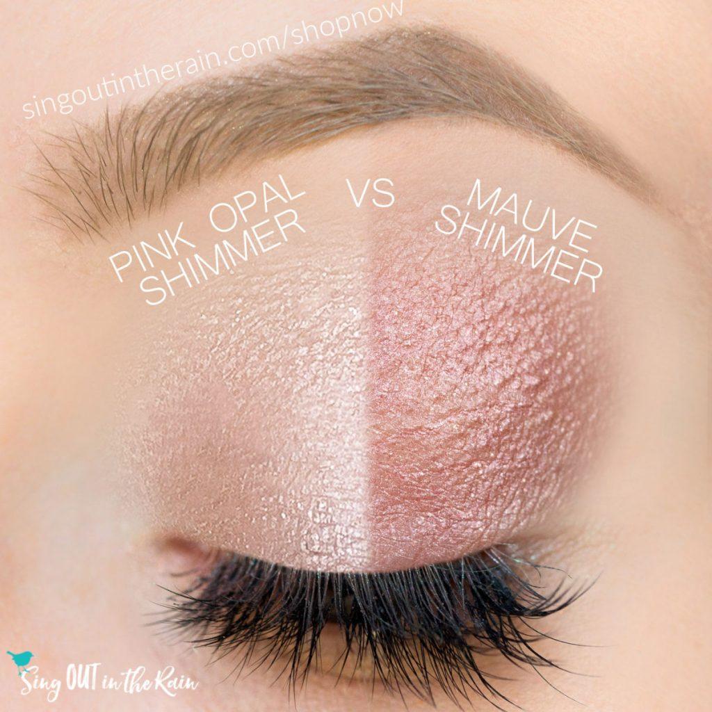 Pink Opal Shimmer ShadowSense, Mauve Shimmer ShadowSense