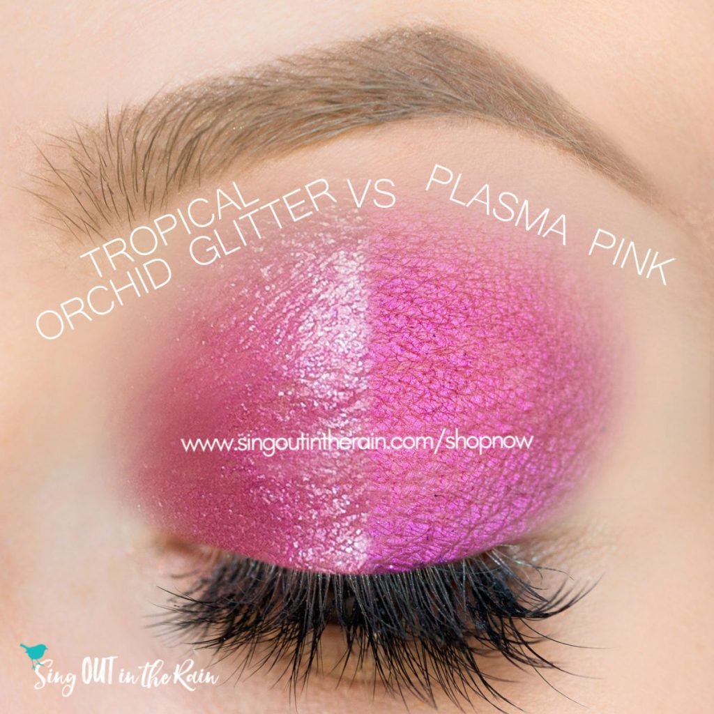 Tropical Orchid Glitter ShadowSense, Plasma Pink SHimmer Shadowsense