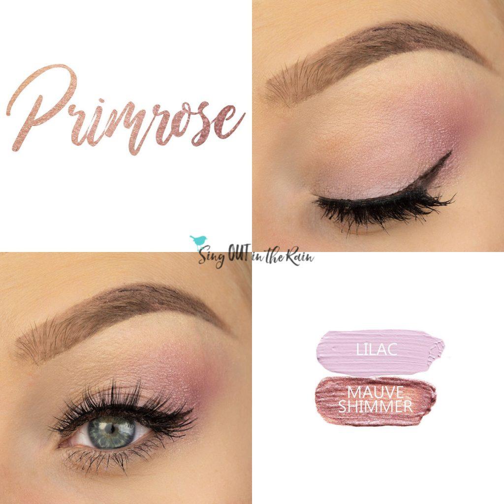 Primrose Eye Duo, Lilac ShadowSense, Mauve Shimmer ShadowSense