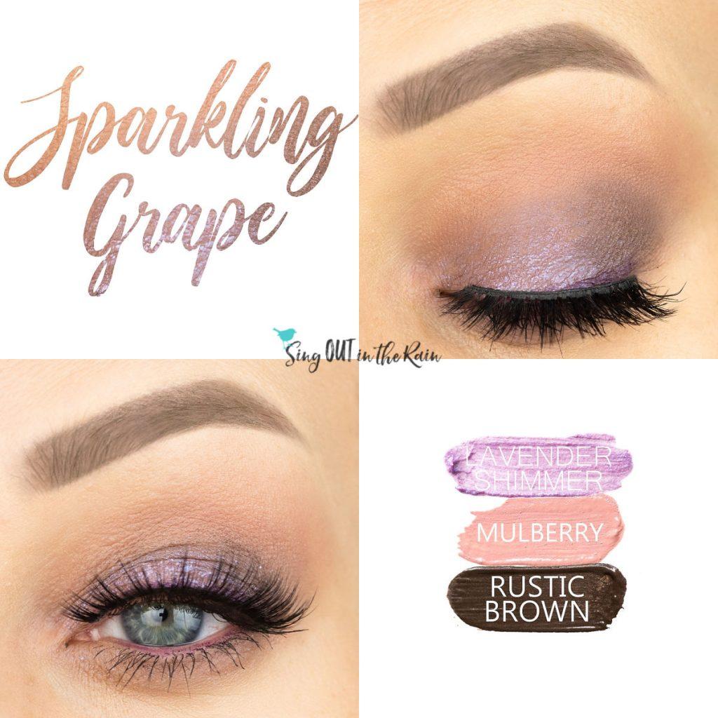Lavender Shimmer ShadowSense, Mulberry ShadowSense, Rustic Brown ShadowSense, Sparkling Grape Eye Trio