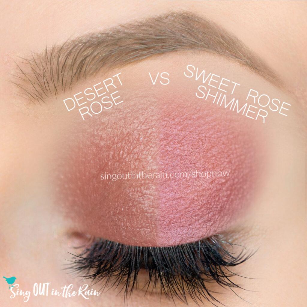 Sweet Rose Shimmer ShadowSense, Desert Rose ShadowSense