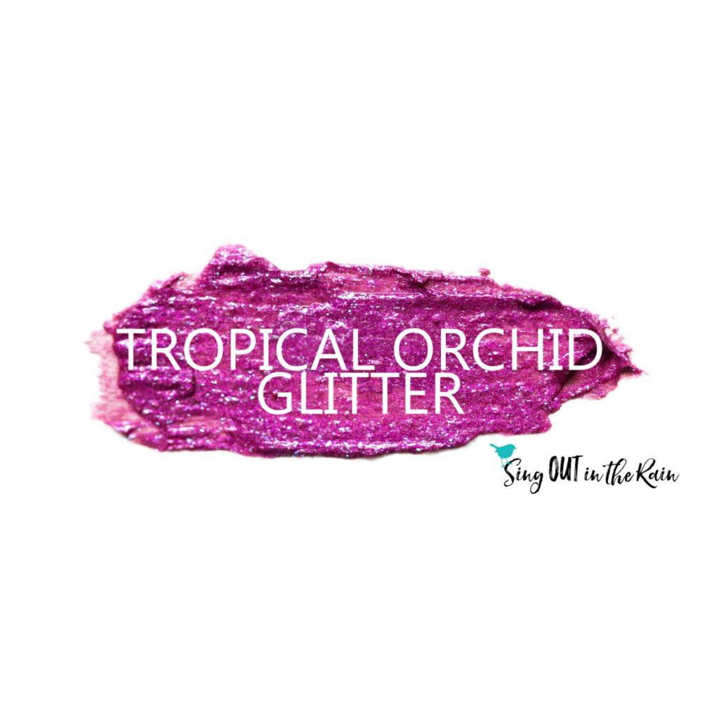 Tropical Orchid Glitter ShadowSense