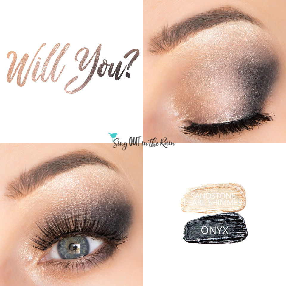 Sandstone Pearl Shimmer ShadowSense, Onyx ShadowSense