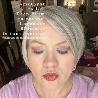 Amethyst ShadowSense, Deep Plum Shadowsense, Lavender Shimmer ShadowSense