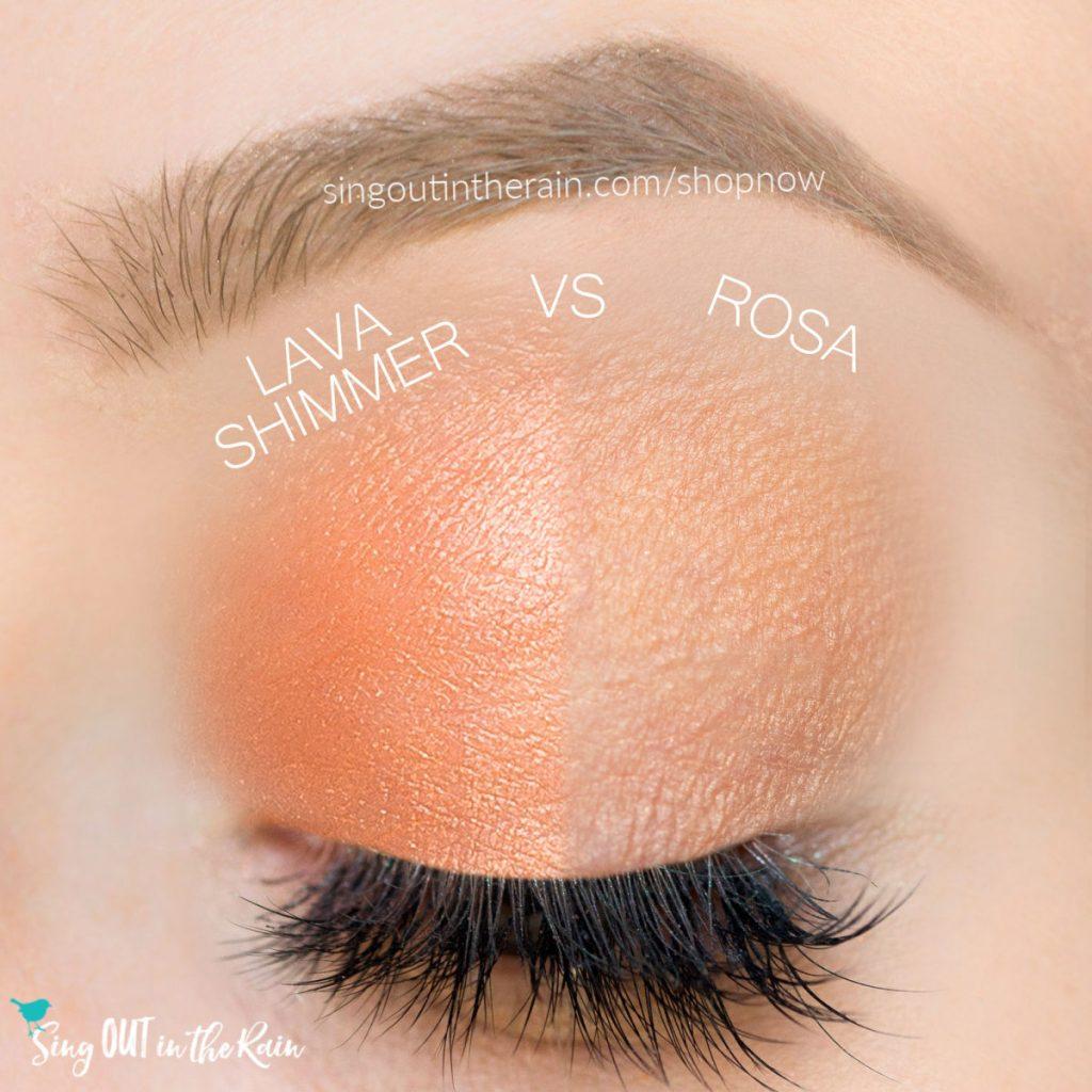 lava Shimmer Shadowsense, rosa shadowsense