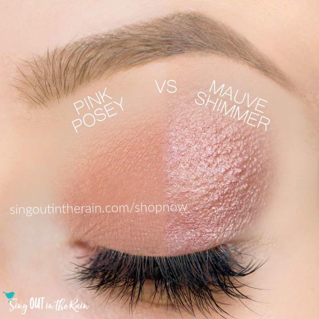 Pink Posey ShadowSense, Mauve Shimmer ShadowSense