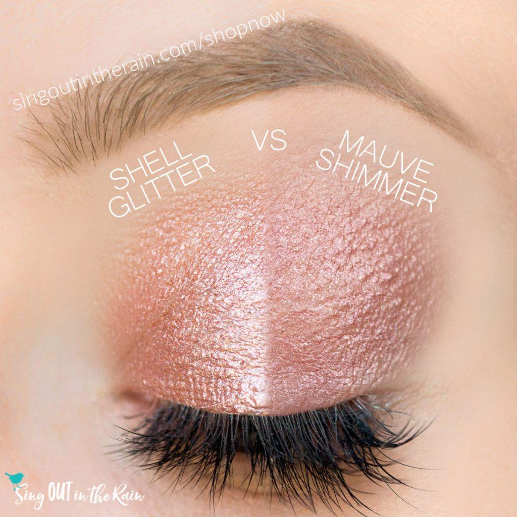 Shell Glitter ShadowSense, Mauve Shimmer Shadowsense
