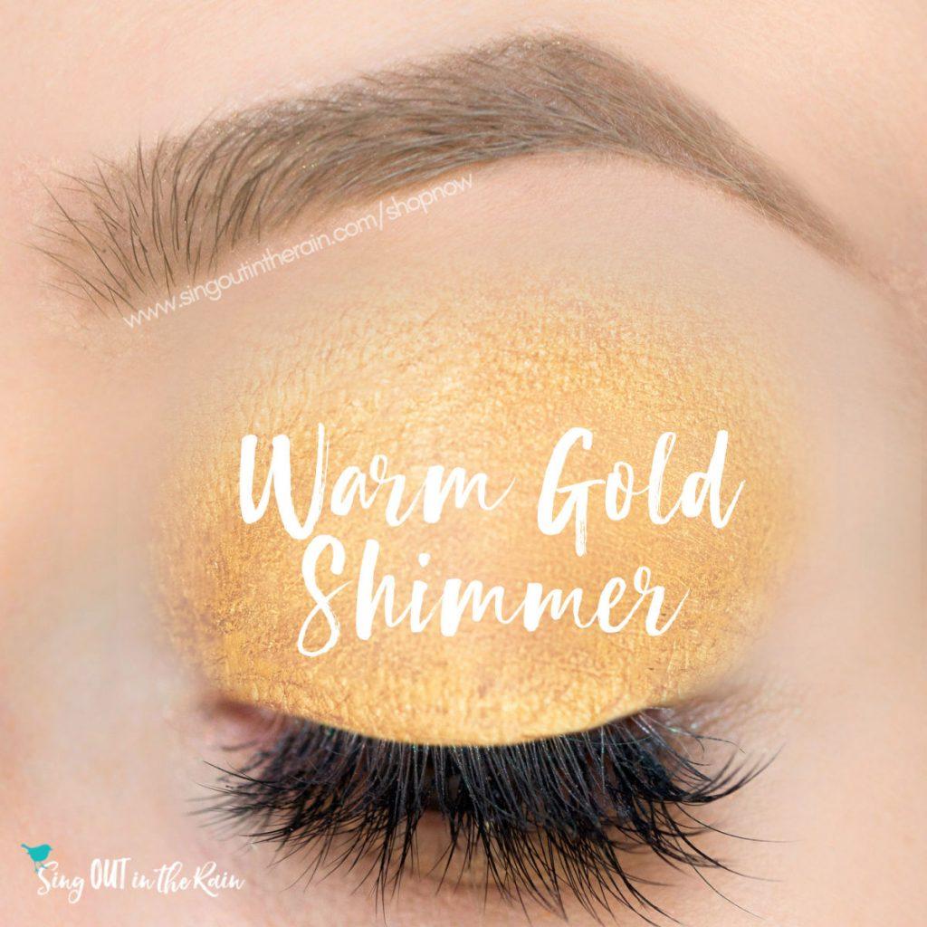 warm gold shimmer shadowsense