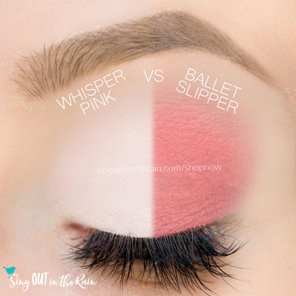 Whisper Pink ShadowSense, Ballet Slipper ShadowSense