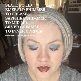 Slate ShadowSense, Emerald Shimmer ShadowSense, Sapphire Shimmer ShadowSense, Silver Shimmer ShadowSense