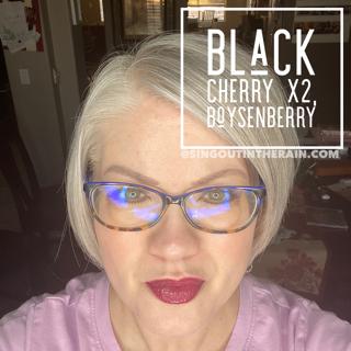 Black Cherry LipSense, LipSense Mixology, Boysenberry LipSense