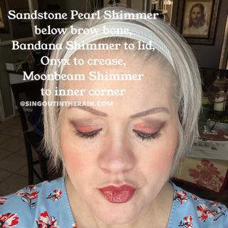 Sandstone Pearl Shimmer Sandstone, Bandana Shimmer ShadowSense, Moonbeam Shimmer ShadowSense, Onyx ShadowSense