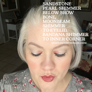 Sandstone Pearl Shimmer ShadowSense, Bandana Shimmer ShadowSense, Moonbeam Shimmer ShadowSense