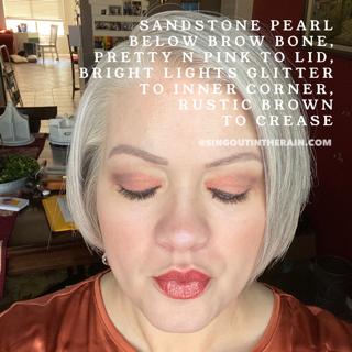 Sandstone Pearl ShadowSense, Pretty N Pink ShadowSense, Bright Lights Glitter ShadowSense, Rustic Brown ShadowSense