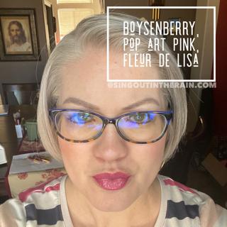 Boysenberry, Pop Art Pink, Fleur De Lisa