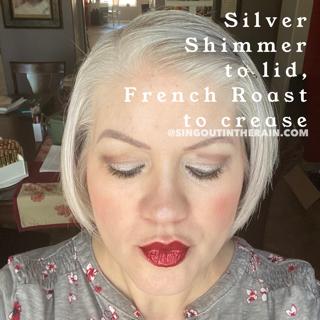French Roast Shadowsense, Silver Shimmer ShadowSense
