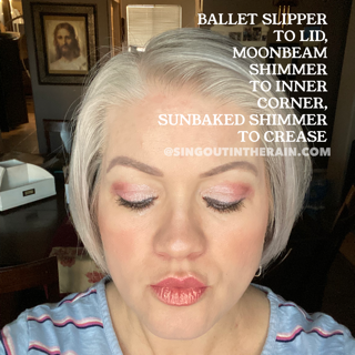 Ballet Slipper Shadowsense, Moonbeam Shimmer ShadowSense, Sunbaked Shimmer ShadowSense