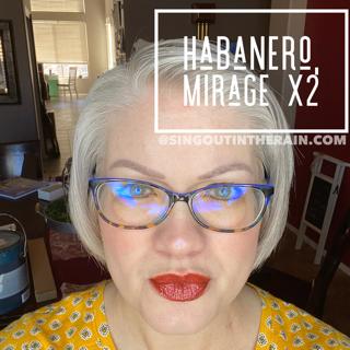 Habanero LipSense, Mirage LipSense, LipSense Mixology