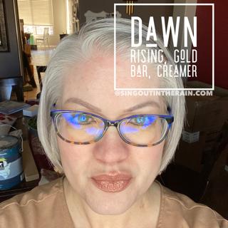 Dawn Rising LipSense, Gold Bar LipSense, Creamer LipSense, LipSense Mixology