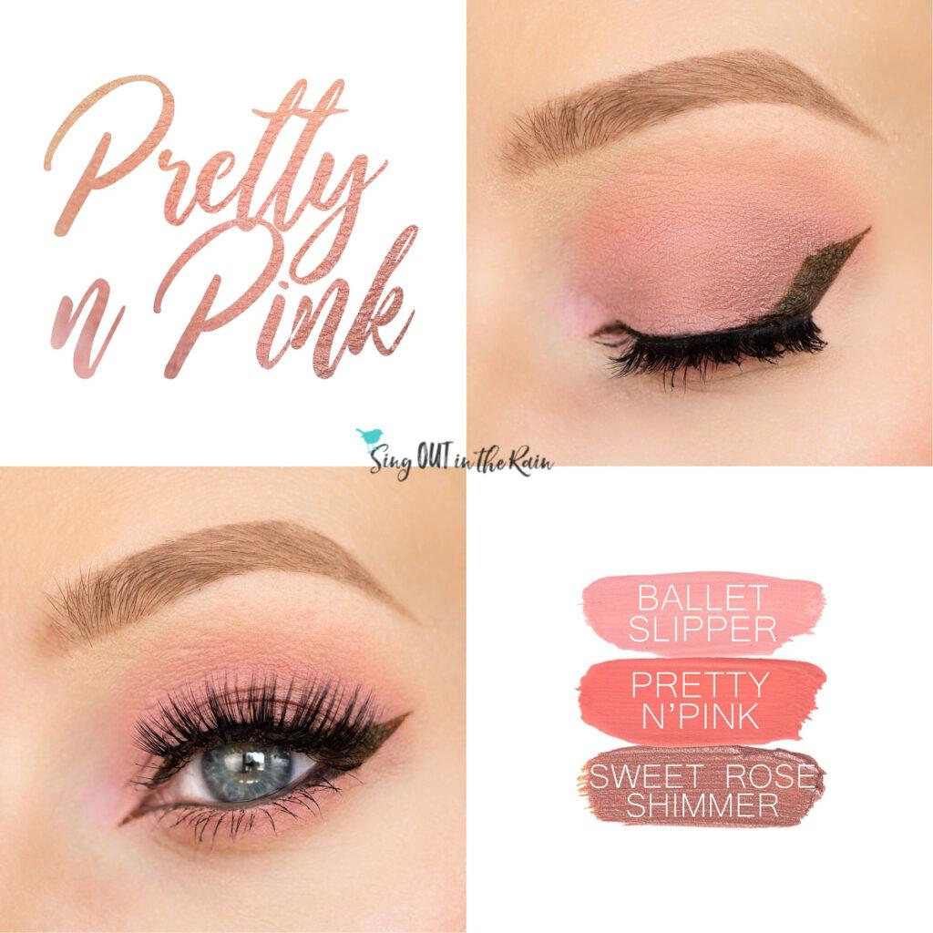 Pretty N Pink ShadowSense, Ballet Slipper ShadowSense, Sweet Rose Shimmer ShadowSense, Pretty N Pink ShadowSense Collage