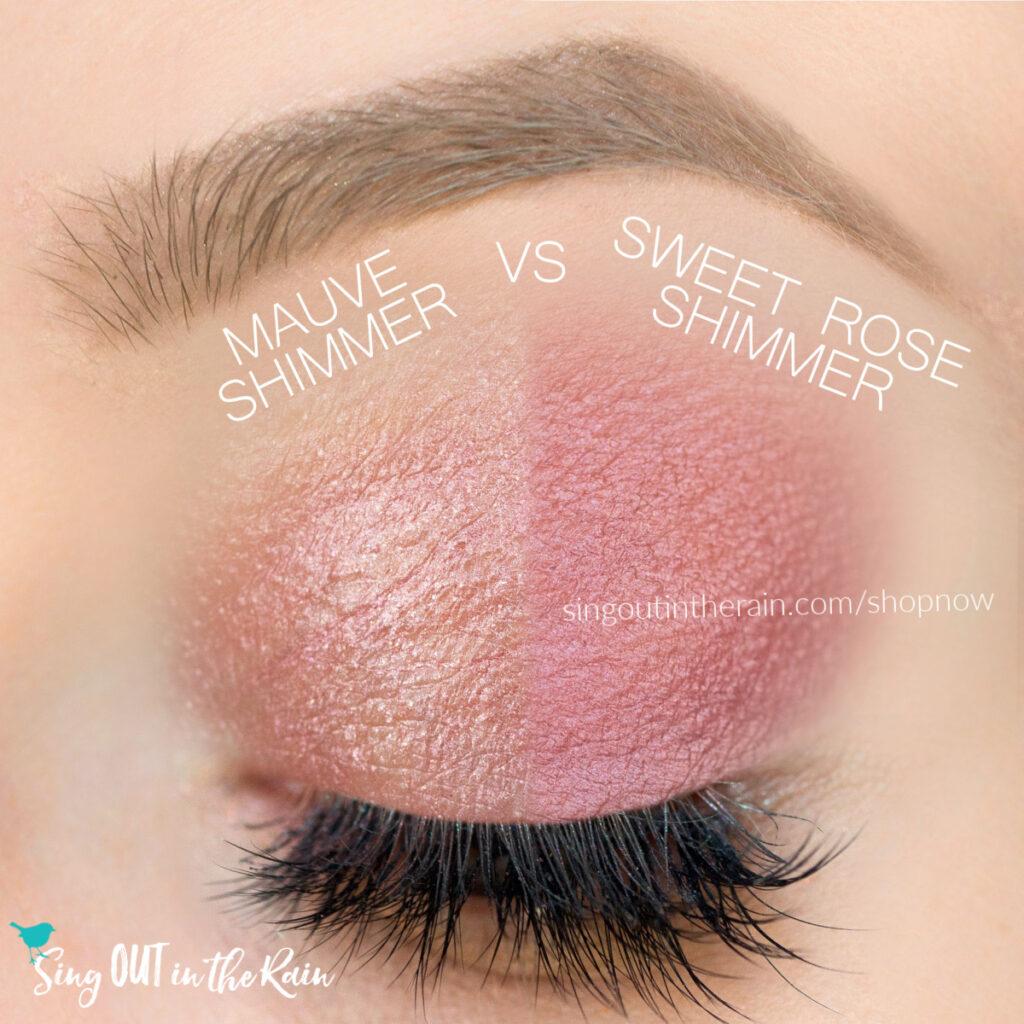 Sweet Rose Shimmer ShadowSense, Mauve Shimmer ShadowSense