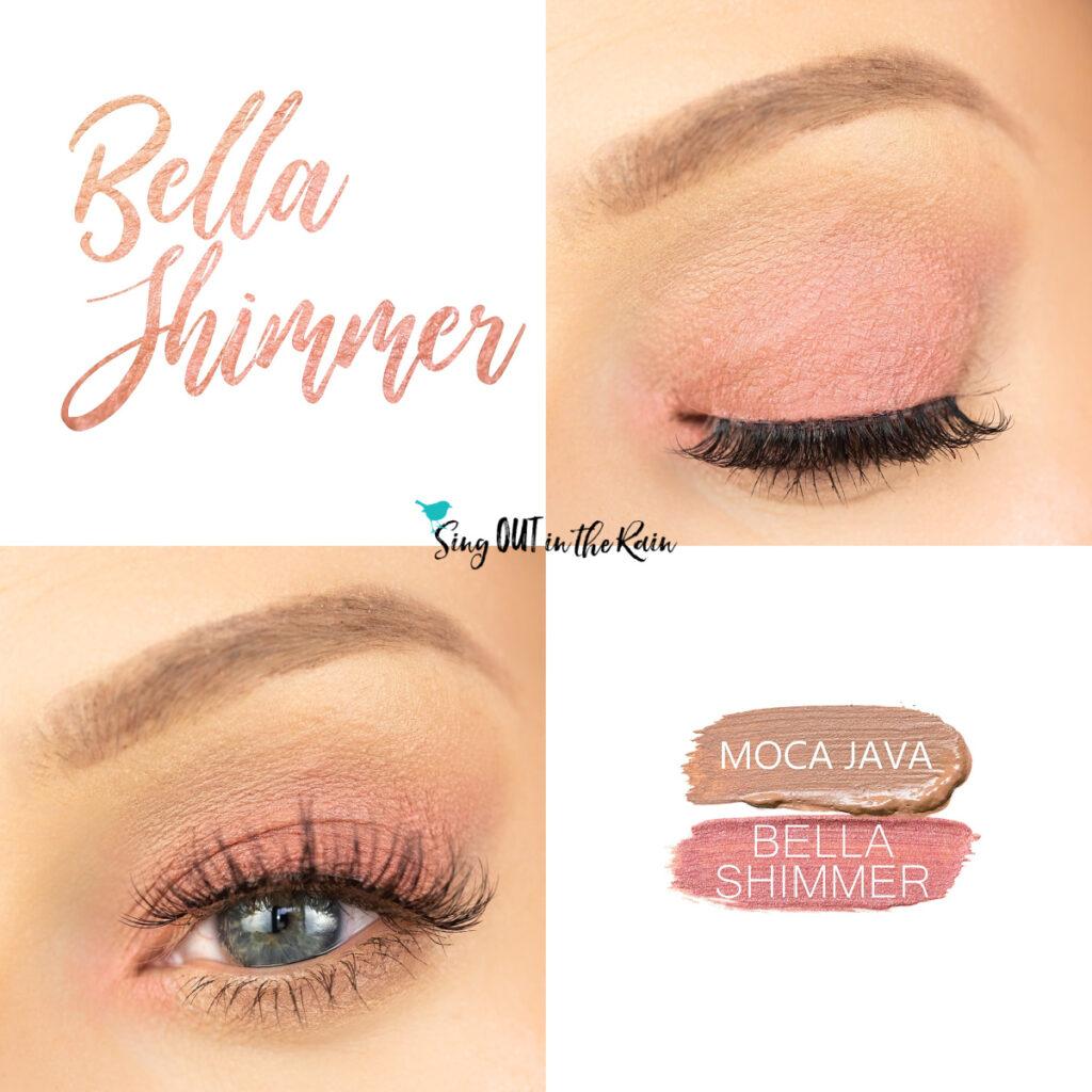 Bella Shimmer ShadowSense, Moca Java ShadowSense, Bella Shimmer Eye Look
