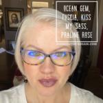 Praline Rose LipSense, Kiss My Sass LipSense, Fuscia LipSense, LipSense Mixology, Ocean Gem LipSense