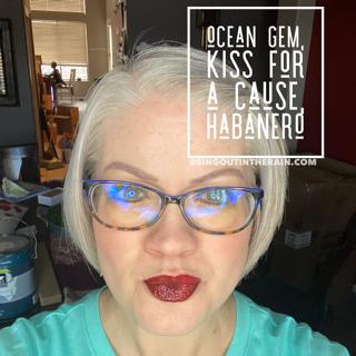 Habanero LipSense, LipSense Mixology, Kiss for a Cause LipSense, Ocean Gem LipSense