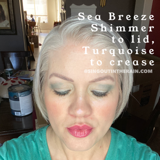 Sea Breeze Shimmer ShadowSense, Turquoise ShadowSense