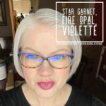 Star Garnet LipSense, Fire Opal LipSense, LipSense Mixology, Violette LipSense