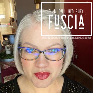 Glam Doll LipSense, Red Ruby LipSense, Fuscia LipSense, LipSense Mixology