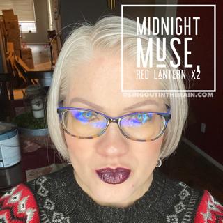 Midnight Muse LipSense, Red Lantern LipSense, LipSense Mixology