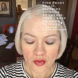 Pink Frost ShadowSense, Sapphire Shimmer ShadowSense, Sweet Rose Shimmer ShadowSense