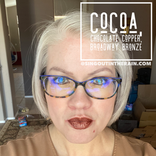 Cocoa LipSense, LipSense Mixology, Chocolate Copper LipSense, Broadway Bronze LipSense