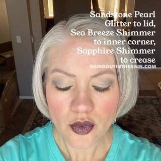 Sandstone Pearl Glitter ShadowSense, Sea Breeze Shimmer ShadowSense, Sapphire Shimmer ShadowSense