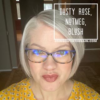 Dusty Rose LipSense, Nutmeg LipSense, LipSense Mixology, Blush LipSense