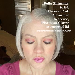 Bella Shimmer ShadowSense, Plasma Pink Shimmer ShadowSense, Platinum Glitter ShadowSense
