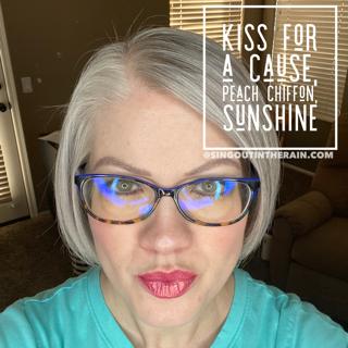 Kiss for a Cause LipSense, Peach Chiffon LipSense, Sunshine LipSense, LipSense Mixology