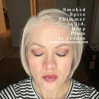 Smoked Spice Shimmer ShadowSense, Deep Plum ShadowSense