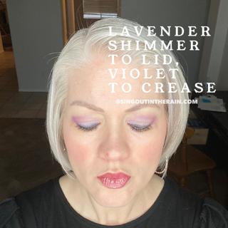 Lavender Shimmer ShadowSense, Violet ShadowSense