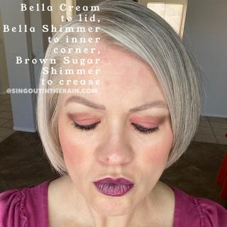Brown Sugar Shimmer ShadowSense, Bella Cream ShadowSense, Bella Shimmer ShadowSense