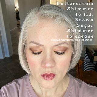 Buttercream Shimmer ShadowSense, Brown Sugar Shimmer ShadowSense