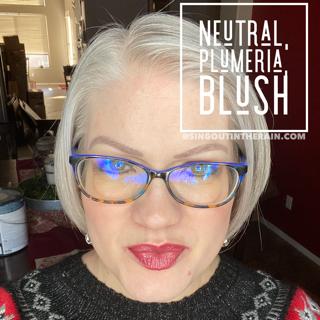 Neutral LipSense, Plumeria LipSense, Blush LipSense