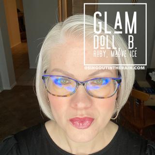 Glam Doll LipSense, LipSense Mixology, B. Ruby LipSense, Mauve Ice LipSense