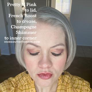 Champagne Shimmer ShadowSense, French Roast ShadowSense, Pretty N Pink ShadowSense