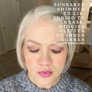 Sunbaked Shimmer Shadowsense, Indigo ShadowSense, Glacier Glitter ShadowSense