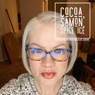 Cocoa LipSense, Samon LipSense, Spice Ice LipSense, LipSense Mixology