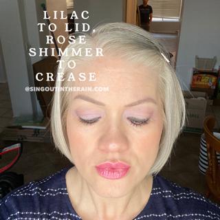 Lilac ShadowSense, Rose Shimmer ShadowSense